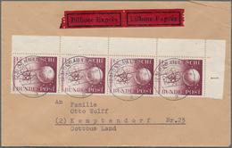 Bundesrepublik Und Berlin: 1949/2000 (ca.), Reichhaltiger Und Sehr Vielseitiger Bestand Von (vorsich - Duitsland