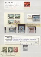 Bundesrepublik Und Berlin: 1949/2004, Postfrische Und Gestempelte Partie Abarten/Spezialitäten/Beson - Duitsland