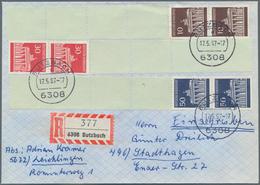Bundesrepublik Und Berlin: 1965/1995, Vielseitiger Bestand Von Vorsichtig Geschätzt 1000+ Belegen, M - Duitsland