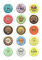 Varia (im Briefmarkenkatalog): Jetons, Umfangreiche, Internationale Sammlung Mit Mehr Als 2.400 Vers - Andere Sammlungen