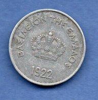 Grèce -  10 Lepta 1922    -  Km # 66.1 -  état  TTB - Grèce