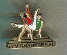 Pin's - GYM Chartres - Ille Et Vilaine - Gymnastique - Athlétisme