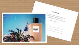 """CC Carte Parfumée '' CHANEL"""" Perfume Card CANADA! RV Texte Anglais - Modern (from 1961)"""