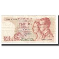 Billet, Belgique, 50 Francs, 1966, 1966-05-16, KM:139, TTB - [ 6] Staatskas