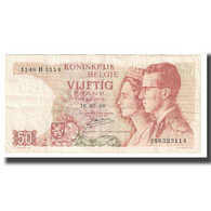 Billet, Belgique, 50 Francs, 1966, 1966-05-16, KM:139, TTB - 50 Francs