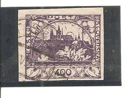Checoslovaquia - Czechoslovakia Yvert 24 (usado) (o) - Checoslovaquia