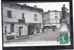 72 - SAINT-MAIXENT - Vieilles Maisons - Statue De Judith - France