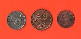 Nuova Guinea New Guinea 1 + 2 + 5 Tola Papuasia - Papúa Nueva Guinea