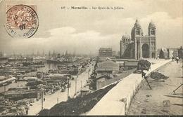 Marseille Les Quais De La Joliette - Joliette, Zone Portuaire