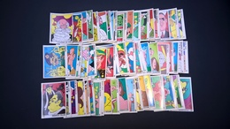 Lot 111 Vignettes Panini OK VIP Caricatures + 12 Doubles Offertes Cyclisme Football Chanteurs Acteurs .Ect Très Original - Fiches Illustrées