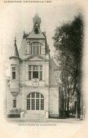 LUXEMBOURG(EXPOSITION UNIVERSELLE PARIS 1900) - Non Classés