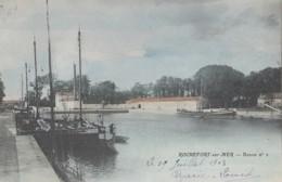 Rochefort-sur-Mer 17 - Bassin N° 2 - Péniche - Colorisée - 1903 - Rochefort