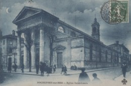 Rochefort-sur-Mer 17 - Eglise Saint-Louis - Nuit Lune - 1907 - Rochefort