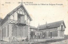 Orroir NA16: Vue D'ensemble De L'Hôtel Du Drapeau Français 1911 - Mont-de-l'Enclus