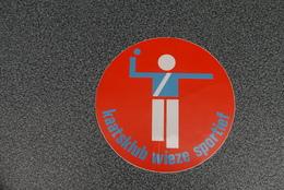Wieze Kaats Klub  Zelfklever  Jaren '70/'80 - Stickers