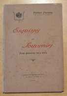 """LIVRE """" ESQUISSES ET SOUVENIRS """" De PHILIBERT FLORENCE - AVEC GRAVURES HORS TEXTE (NICE 1923) - 1901-1940"""