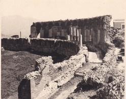 TAORMINA TAORMINE  Le Théâtre Grec  Août 1926 Photo Amateur Format Environ 6,5 Cm X 5,5 Cm - Luoghi