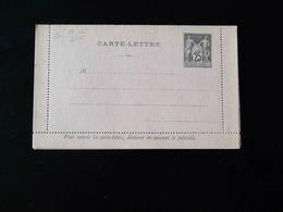 ENTIER POSTAL  CARTE LETTRE  25 C TYPE SAGE - Postal Stamped Stationery