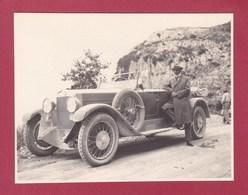 SICLE SICILIA Col Du CHIUNZI GHIUNZI  Août 1926 Photo Amateur Format Environ 6,5 Cm X 5,5 Cm - Luoghi