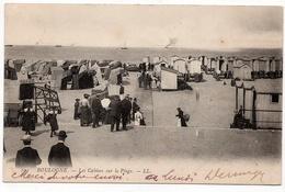 Boulogne Sur Mer : Les Cabines Sur La Plage (Edit. LL N°104) - Boulogne Sur Mer