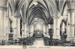 Gerpinnes NA15: Intérieur De L'Eglise 1924 - Gerpinnes