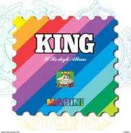LOTTO - MARINI KING SPAGNA DAL 1975 AL 1992 CIRCA 110 FOGLI - NUOVI D'OCCASIONE - Contenitore Per Francobolli