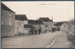 Cusy , Entrée Du Pays , Animée - Other Municipalities