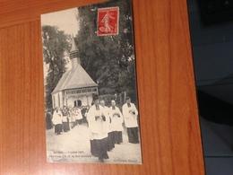CANNES - Pélerinage à Notre Dame Du Bon Secours  (7/7/1907) - Cannes