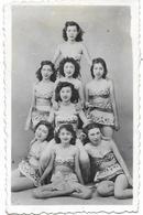 PHOTO - VIETNAM - Jeunes Filles En Habit  -  Ft 8,5 X 6 Cm - Photographs