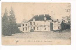 Carte  De  Lurcy Le Bourg  Le Château ( Recto Verso ) - Autres Communes