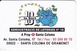 CALENDARIO DEL AÑO 2014 DE UN ELEFANTE (CALENDRIER-CALENDAR) ELEPHANT - Calendarios