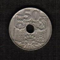 SPAIN  50 CENTIMOS 1963 (63) (KM # 777) #5297 - [ 5] 1949-… : Kingdom