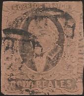 J) 1861 MEXICO, HIDALGO, 8 REALES, DISTRICT QUERETARO, MUTE CANCELLATION, MN - Mexico