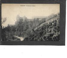02-PERNANT-(Soissons)-Une Vue Des Ruines Du CHATEAU - Other Municipalities