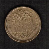 SPAIN  1 PESETA 1963 (63) (KM # 775) #5299 - [ 5] 1949-… : Kingdom