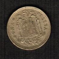 SPAIN  1 PESETA 1966 (73) (KM # 796) #5300 - [ 5] 1949-… : Kingdom