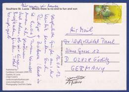 Karte (br7043) - St.Lucia (1979-...)