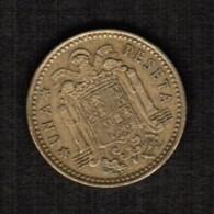 SPAIN  1 PESETA 1966 (74) (KM # 796) #5301 - [ 5] 1949-… : Kingdom