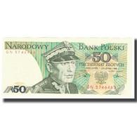 Billet, Pologne, 50 Zlotych, 1988, KM:142b, NEUF - Pologne