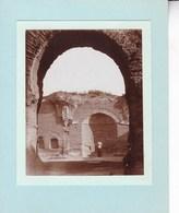 ITALIE ROME ROMA Thermes De Caracala Septembre 1920 Photo Amateur Format Environ 6,5 Cm X 5,5 Cm - Luoghi