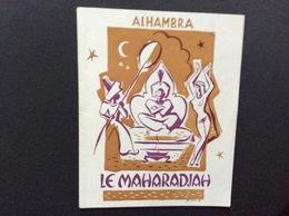PROGRAMME THÉÂTRE ALHAMBRA  *Le Maharadjah  BOURVIL ALICE TISSOT LYSIANE REY - Programmes