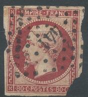Lot N°49135  N°17A, Oblit PC 441 Bordeaux, Gironde (32) - 1853-1860 Napoléon III
