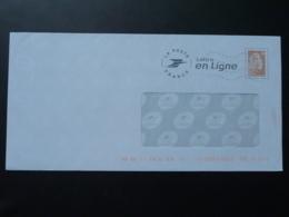 PAP Marianne De Catelin Lettre En Ligne - N° Verso 199735 - Prêts-à-poster:  Autres (1995-...)