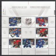 2013 Canada Neuf** N° 2895/2901 Sport : Hockey Sur Glace - 1952-.... Règne D'Elizabeth II