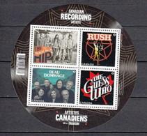 2013 Canada Neuf** N° F 2879 Musique : Chanteur - 1952-.... Règne D'Elizabeth II