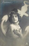 -ref- B607- Fillette - Espérance - Fillettes - Carte Bon Etat - - Portraits