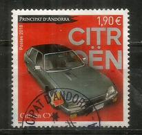 La Citroen CX. Un Timbre Oblitéré, 1 ère Qualité, Année 2018, Haute Faciale - Used Stamps