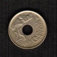 SPAIN  25 PESETAS 1994 (KM # 933) #5304 - [ 5] 1949-… : Kingdom