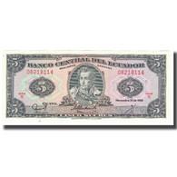 Billet, Équateur, 5 Sucres, 1988, 1988-11-22, KM:108b, NEUF - Ecuador