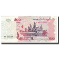 Billet, Cambodge, 500 Riels, 2002, KM:54a, TTB - Cambodia
